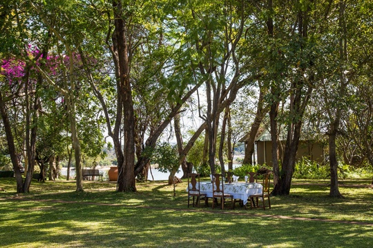 The River Club in Zambia offers peaceful accommodation near Victoria Falls