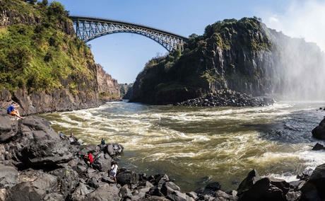 Visit Victoria Falls for adrenaline activities