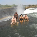 Devil's Pool - at the edge of Victoria Falls