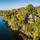 Riverside accommodation at Victoria Falls overlooking the Zambezi River
