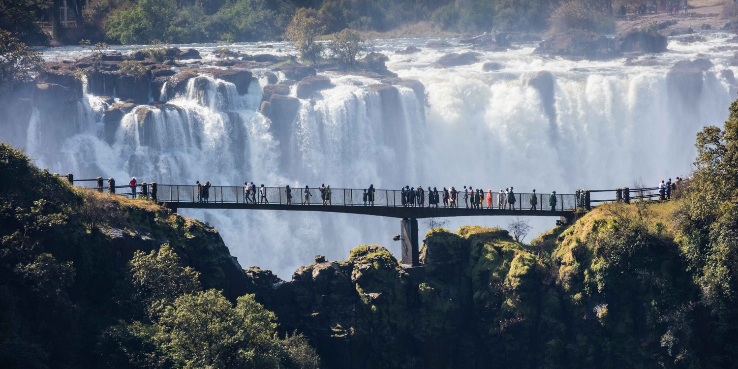 Journey to Southern Africa for safari, wine and Victoria Falls